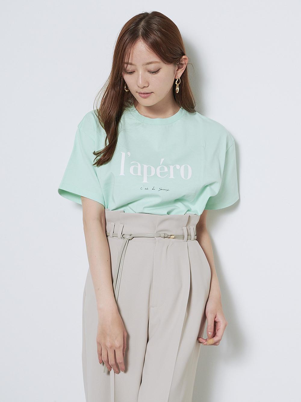 ロゴTシャツ(GRN-F)