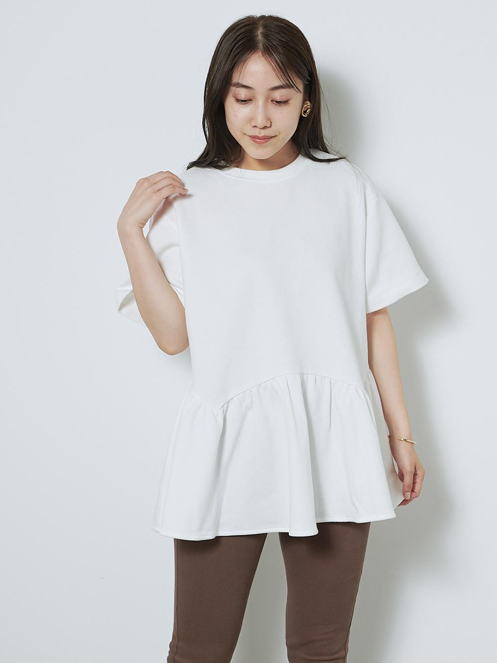 ペプラムビッグTシャツ(OWHT-F)