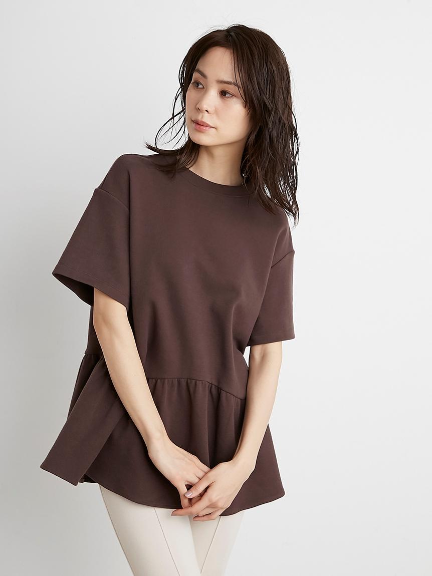ペプラムビッグTシャツ(BRW-F)