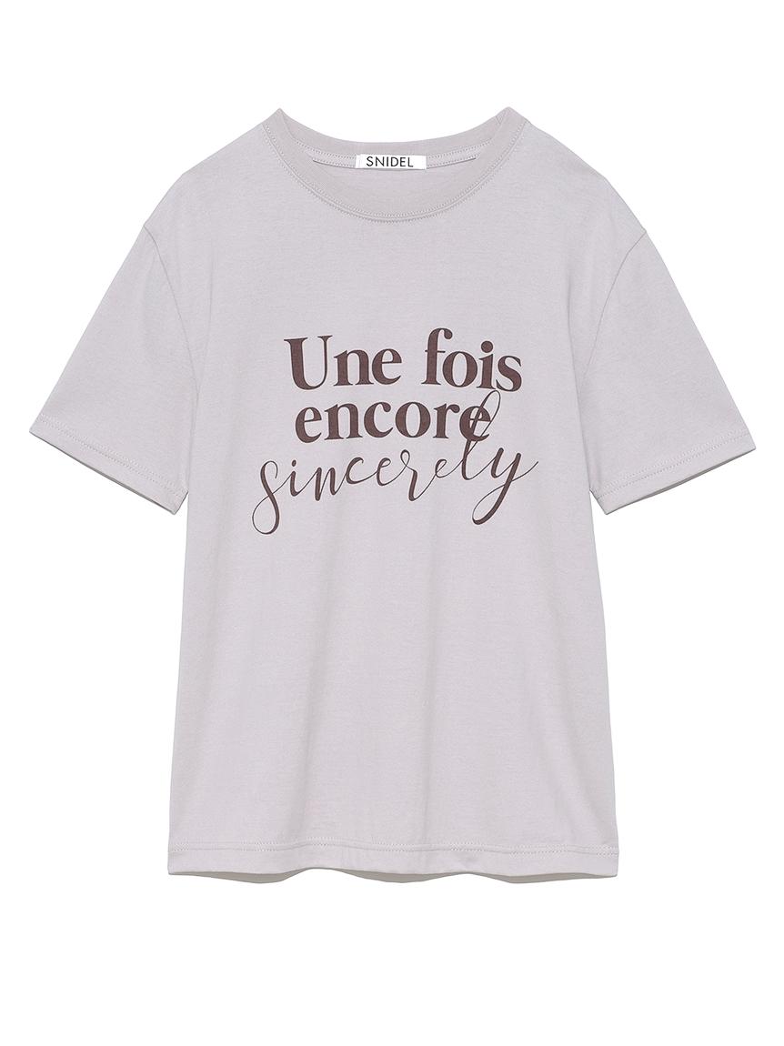 ロゴT-Shirt(LAV-F)