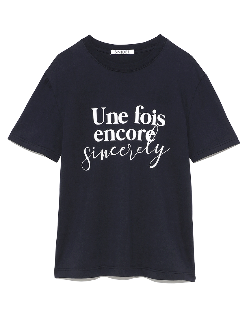 ロゴT-Shirt(NVY-F)