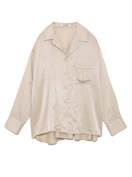 シルクライクシャツ(LBEG-F)