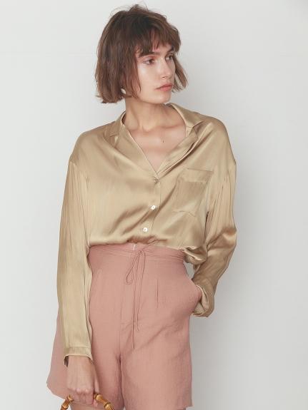 サテンシャツ(LBEG-F)