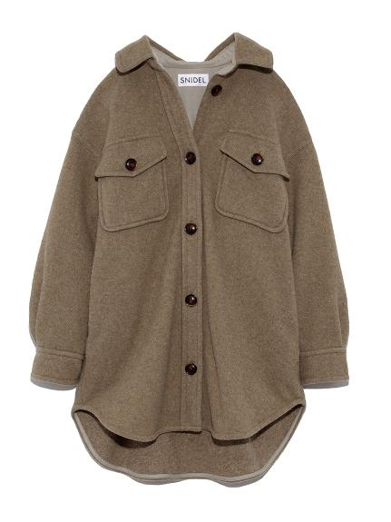 ウールシャツジャケット(GRN-0)