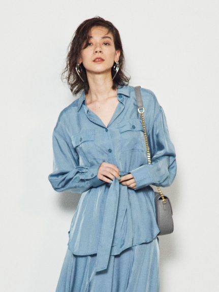 CPOシャツジャケット(BLU-F)