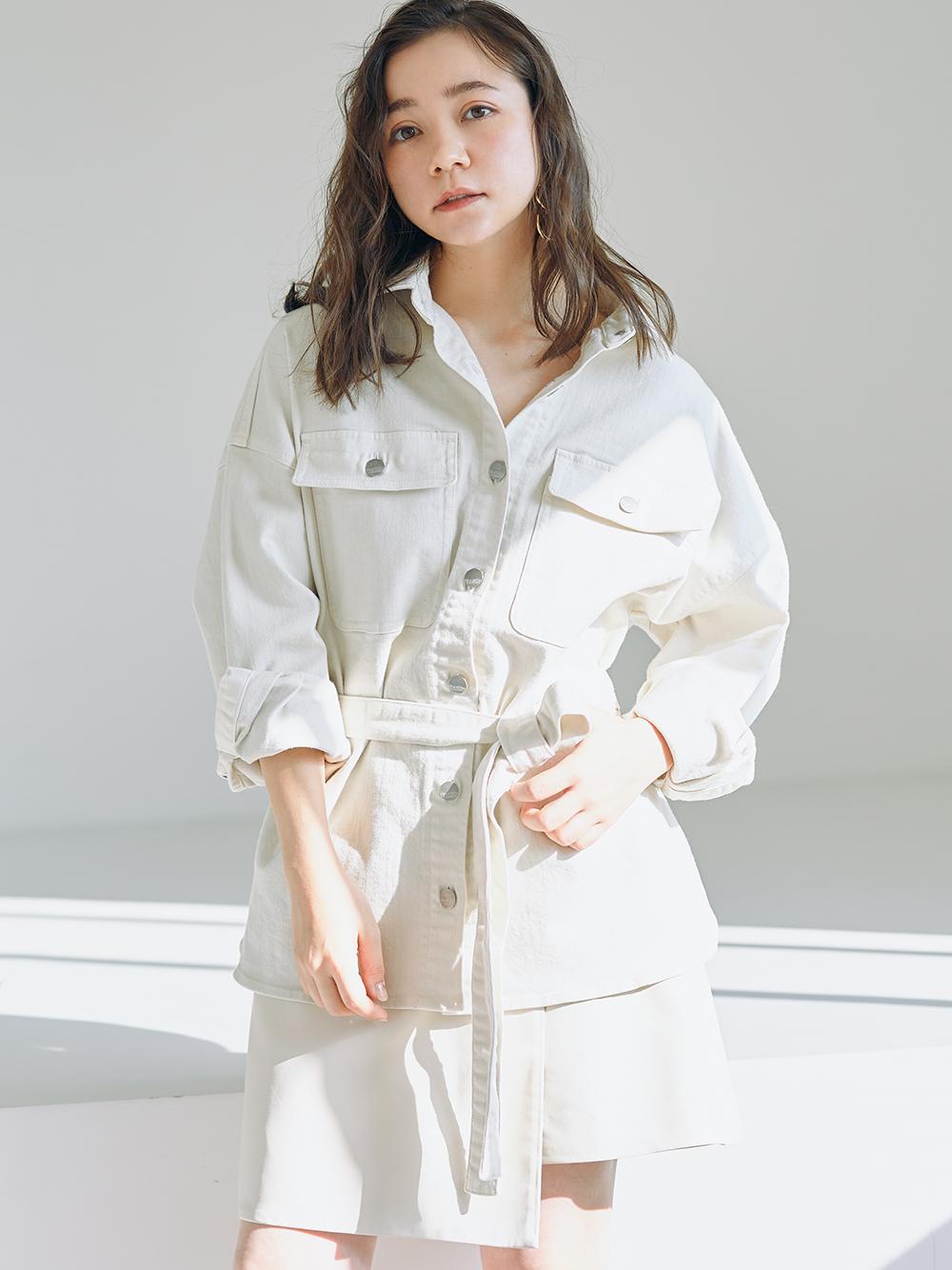 【SNIDEL×Healthy DENIM】シャツジャケット