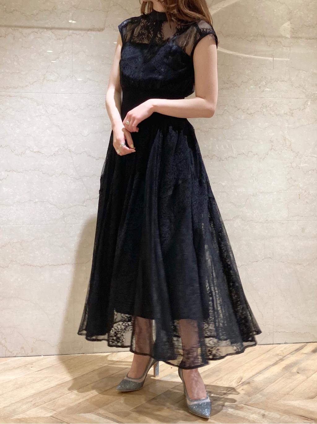 スィッチングレースドレス(BLK-0)