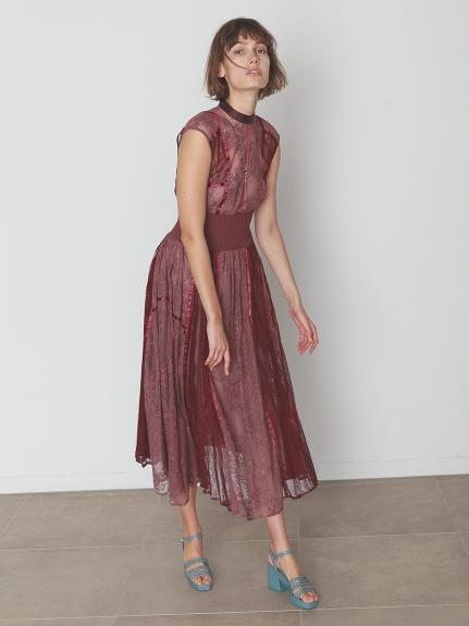 スィッチングレースドレス(PNK-0)