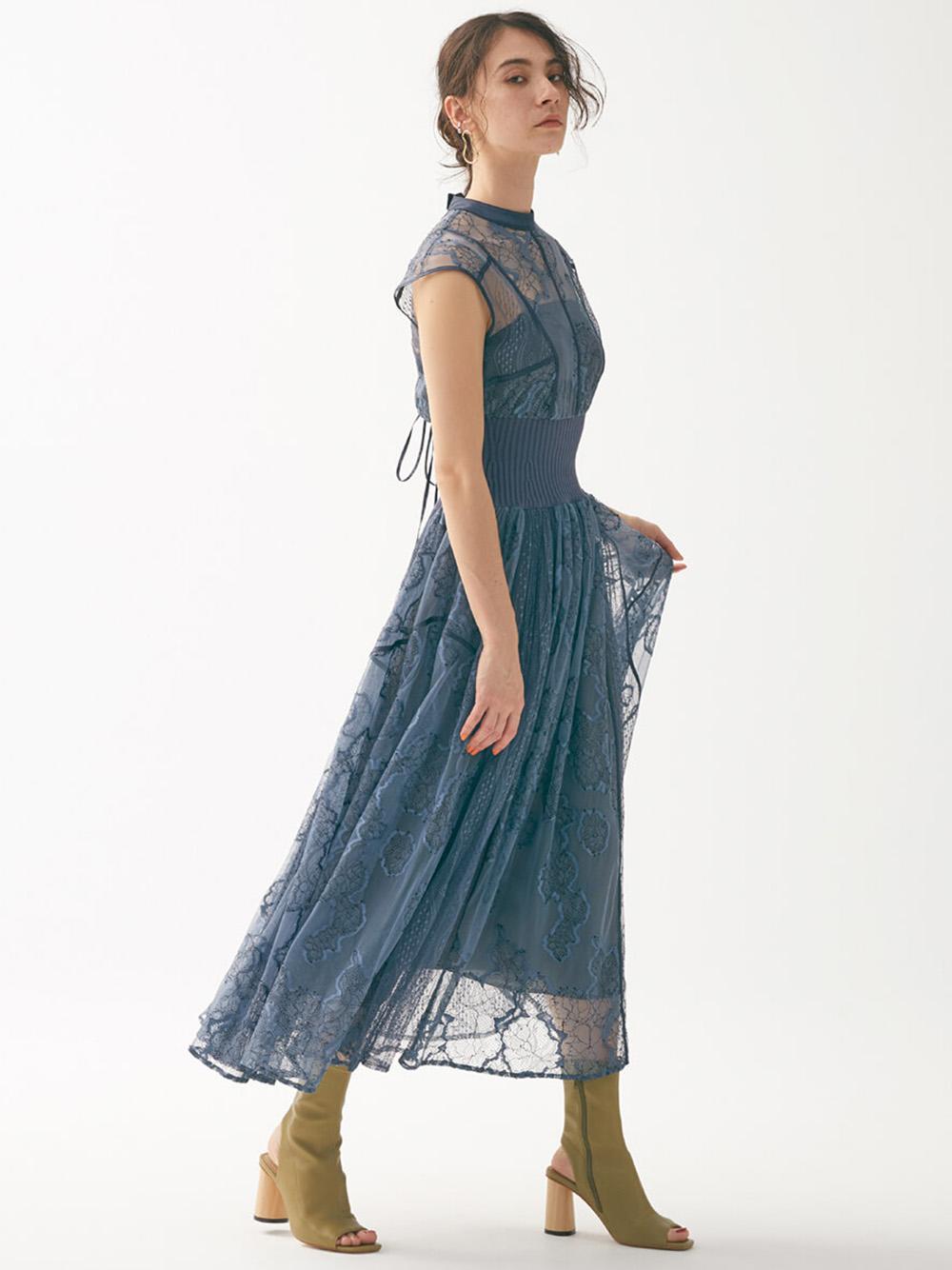 スィッチングレースドレス(BLU-0)