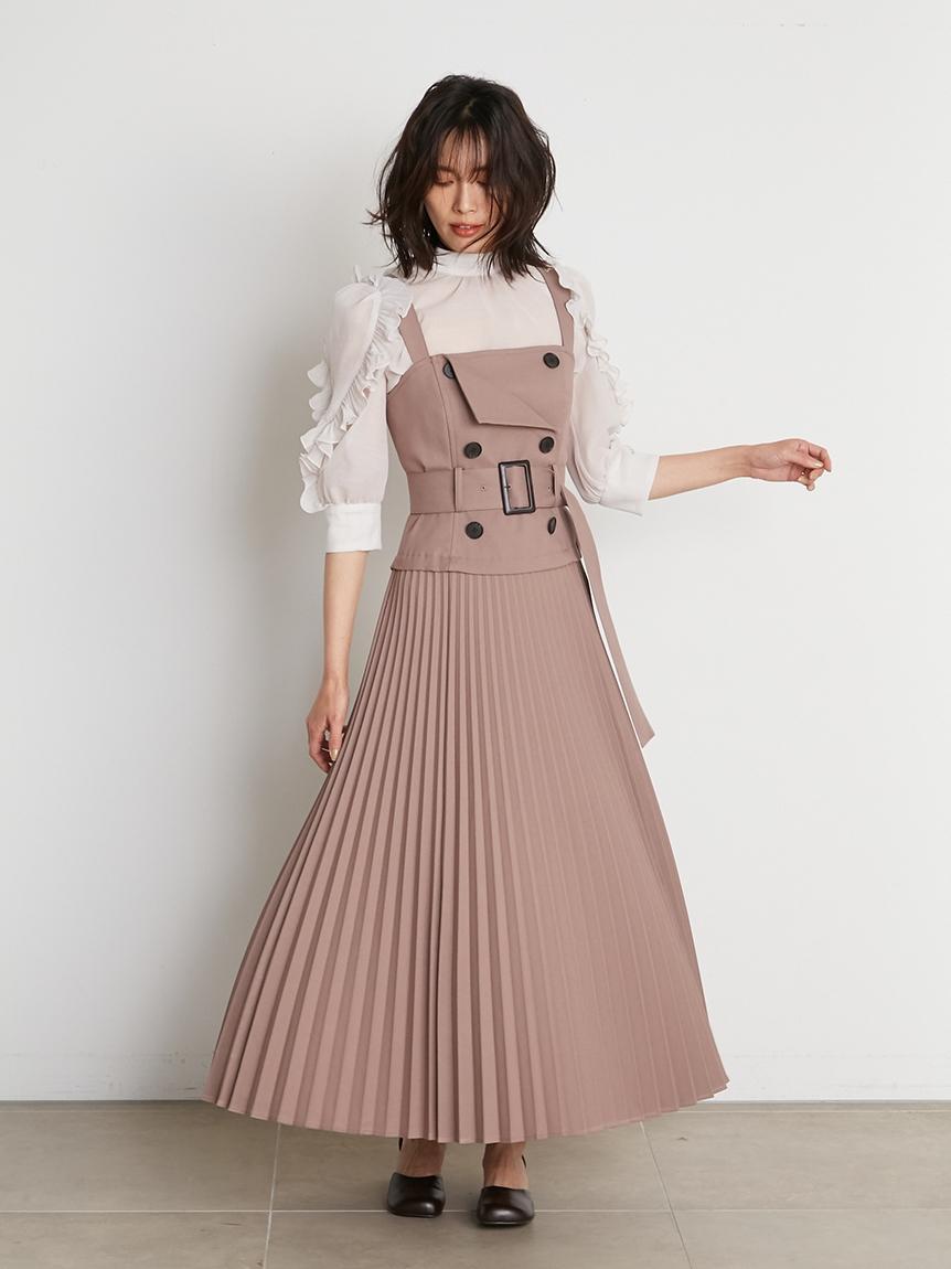トレンチジャンパースカート(MOC-0)