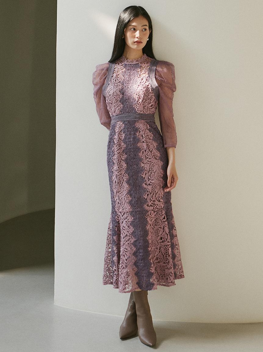 マーメイドレースドレス
