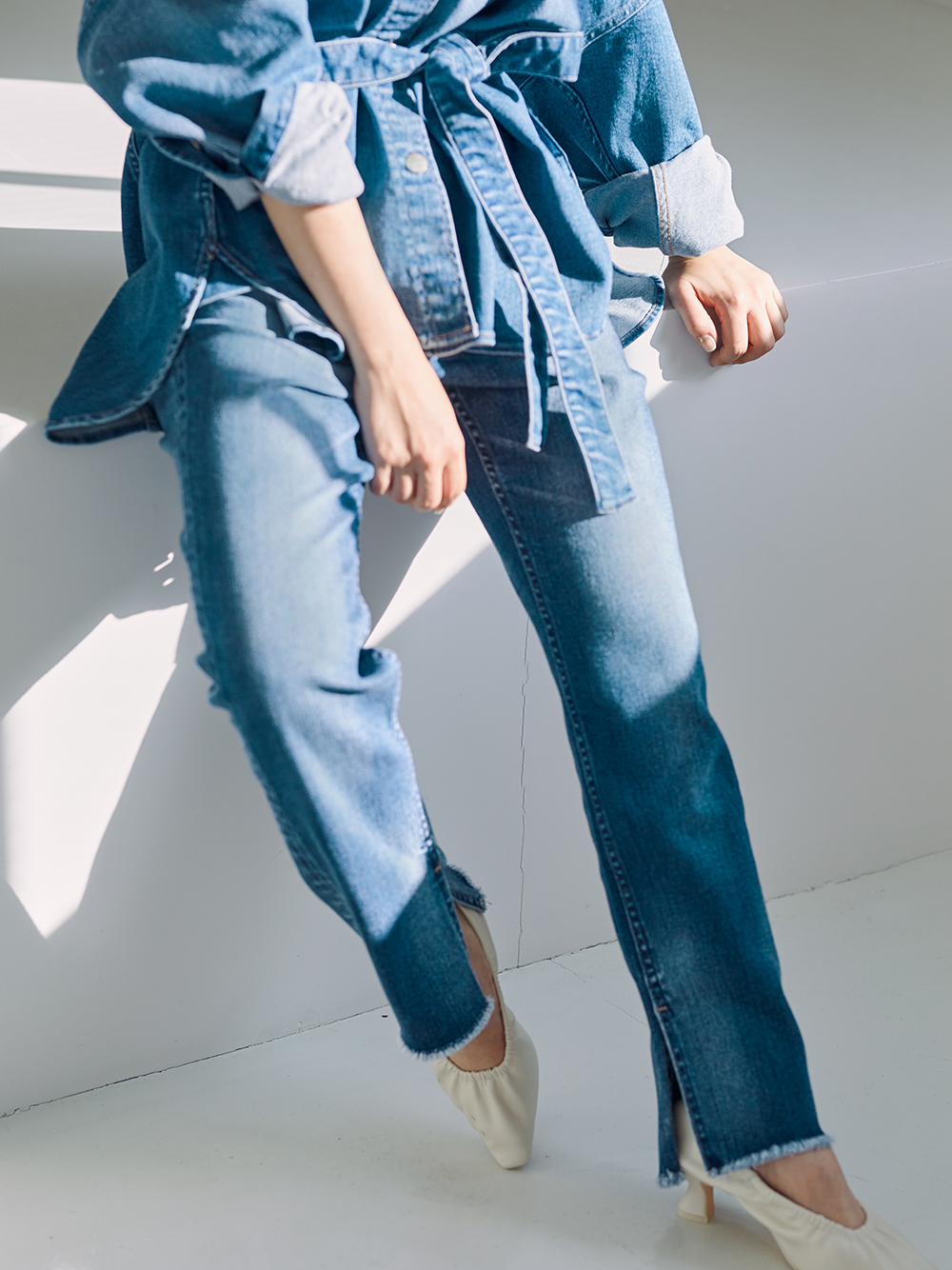 【SNIDEL×Healthy DENIM】デニムパンツ
