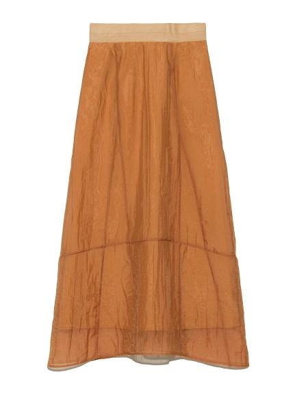 オーガンジーデザインスカート(ORG-0)