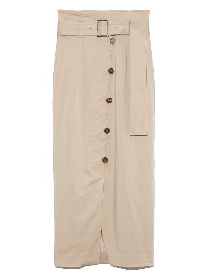 アシメデザインタイトスカート