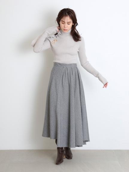 アシメントリーデザインスカート(GRY-0)