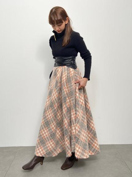 アシメントリーデザインスカート(ORG-0)