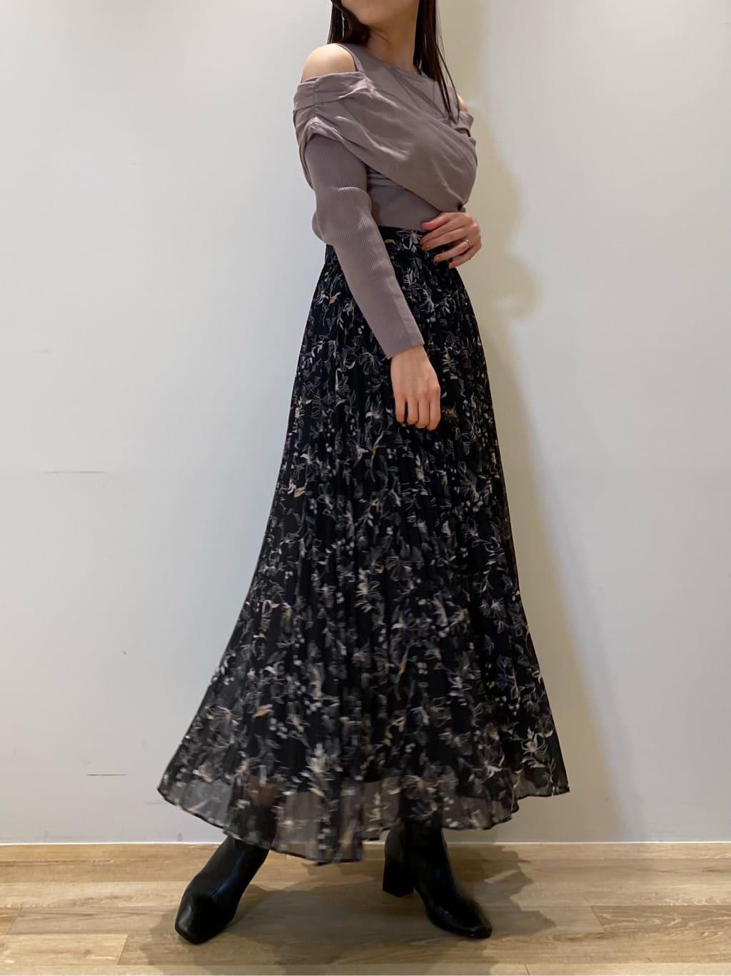 プリーツスカート(BLK-0)