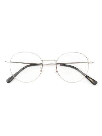 【SNIDEL EYEWEAR】細メタルフレームPC メガネ