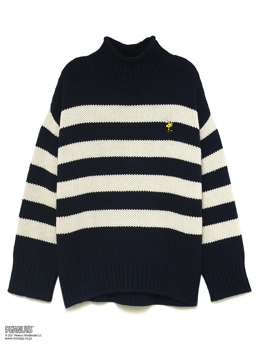 SNOOPY Knit(NVY-F)