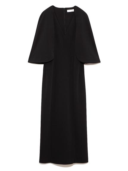 ケープ ドレス