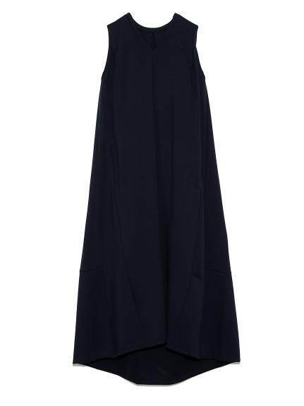 ボリュームコクーンドレス