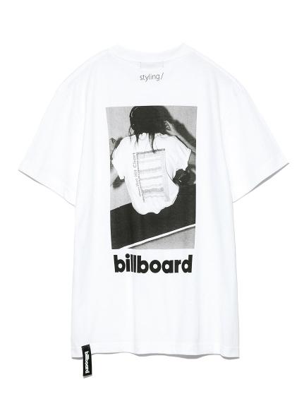 ビルボードコラボTシャツ(WHT-F)