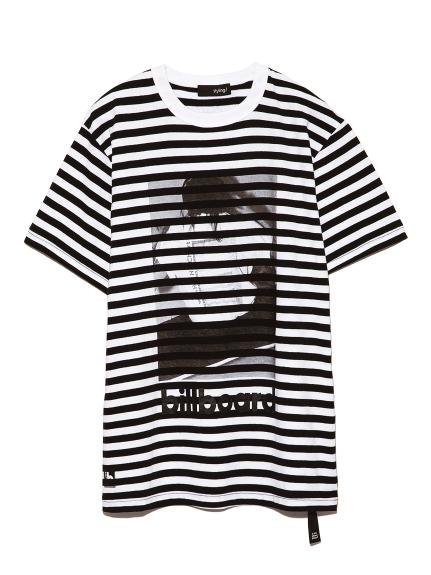 ビルボードコラボTシャツ(WHTxBLK-F)
