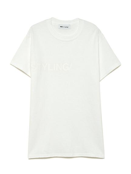 フロッキープリント Tシャツ