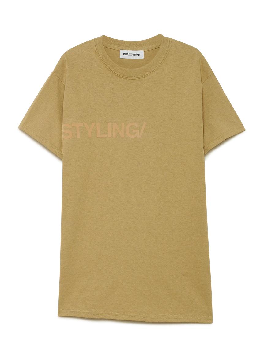 フロッキープリント Tシャツ(MOC-F)