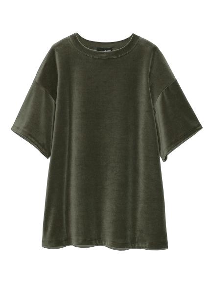 ベロアTシャツ