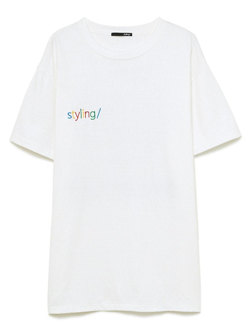 【スーパーマリオ 限定商品】ピーチ プリントTシャツ(WHT-F)