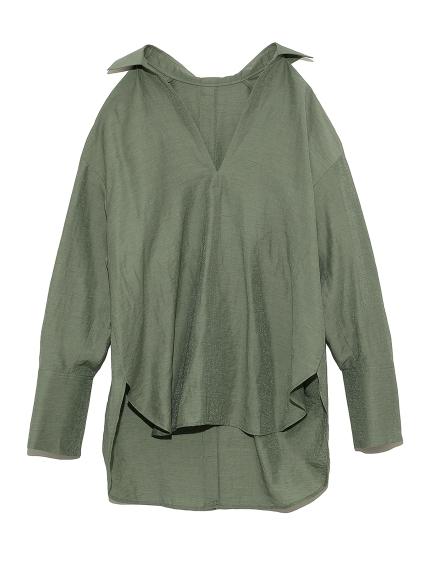 オープンバックシャツ(KKI-F)