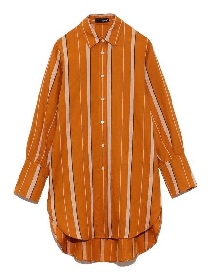 サイドスリットシャツ(STRIPE-F)
