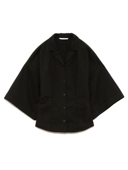 ミリタリーシャツ(BLK-F)