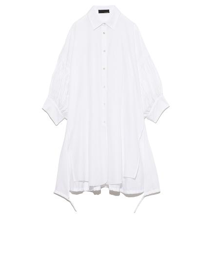 タックスリーブシャツ(WHT-F)
