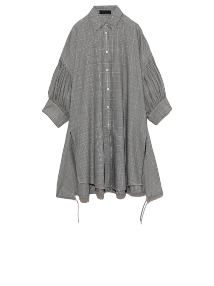 タックスリーブシャツ(CHECK-F)