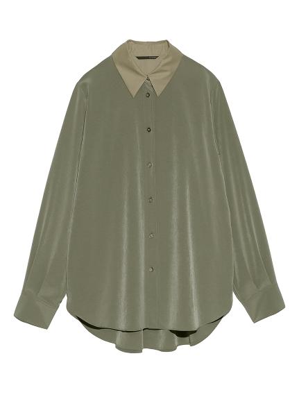 サテンシャツ(KKI-F)