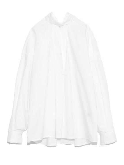 ワイドスリーブミリタリーシャツ(WHT-F)