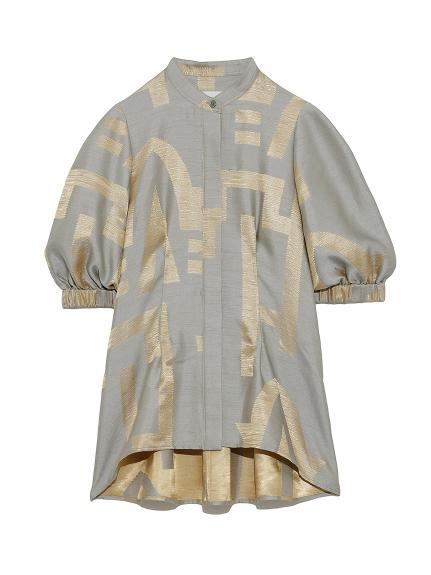 グリフジャガードドレスシャツ