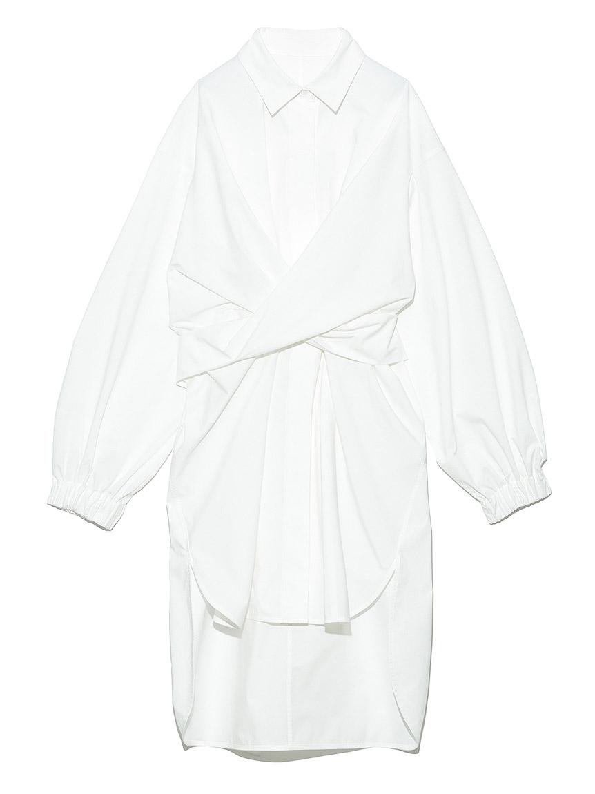 クロスウェストロングシャツ(WHT-F)