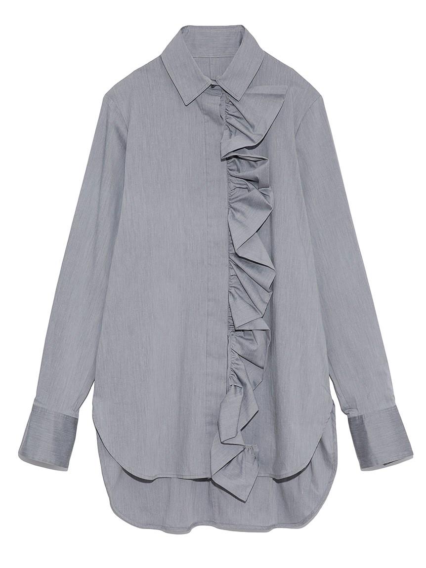 ラッフルシャツ