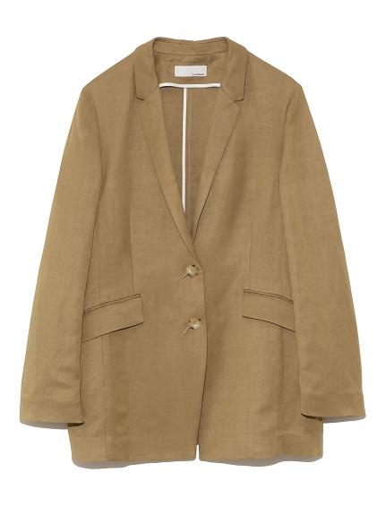ナローラペル スーツジャケット(BEG-0)