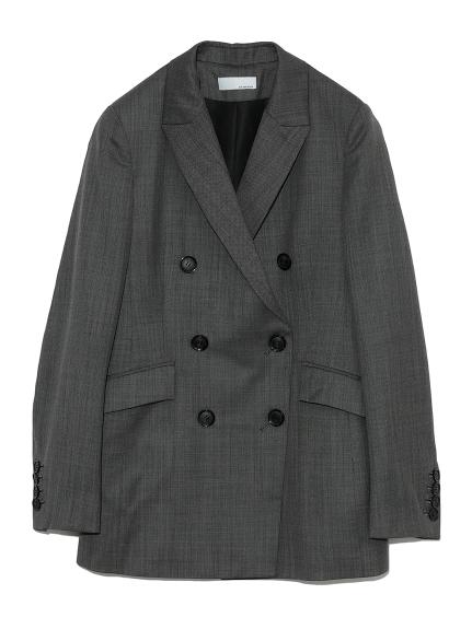 ダブルブレステッドドレスジャケット(CGRY-0)