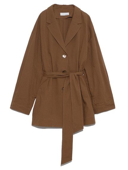 ベルテッドスーツジャケット