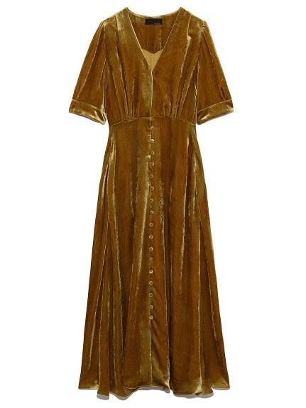 ベルベッドドレス