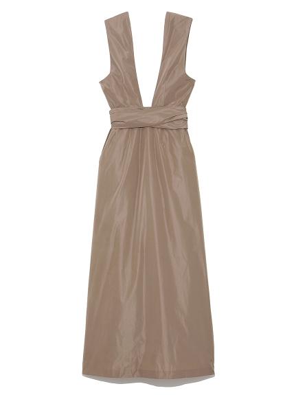 イタリータフタ ドレス(BEG-0)