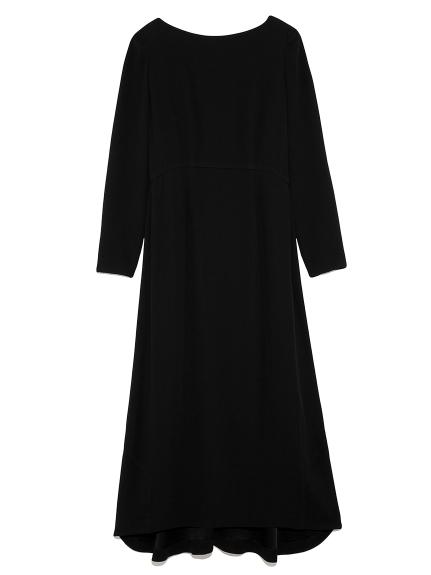 オープンバック ドレス(BLK-0)