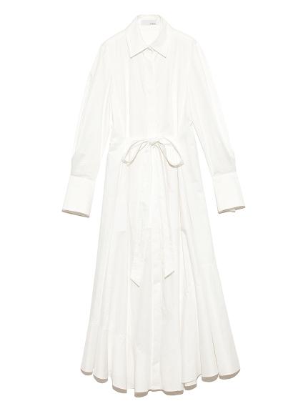 ドレス シャツワンピース(WHT-0)
