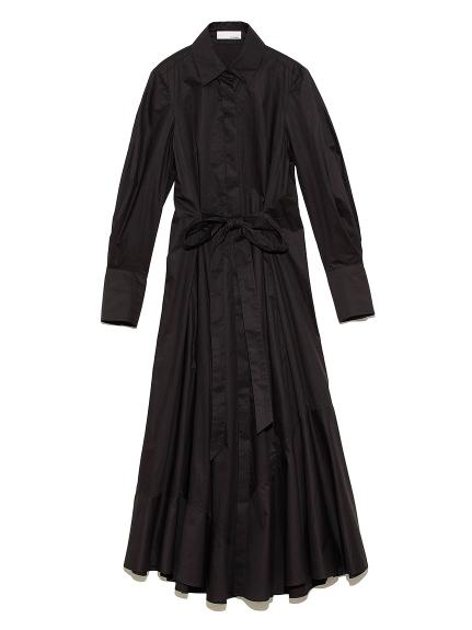 ドレス シャツワンピース(BLK-0)