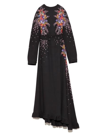 ブーケ ロングドレス